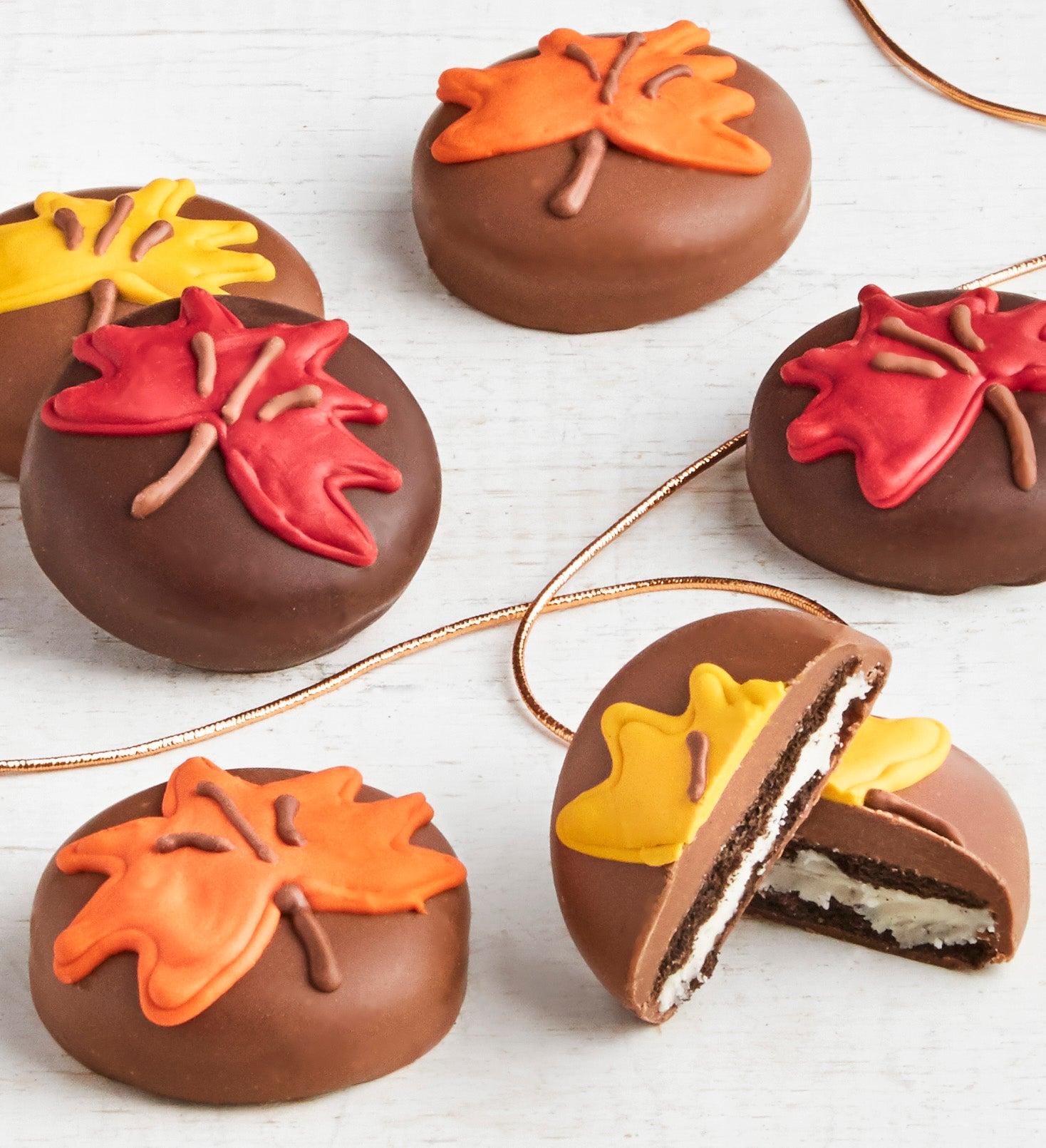 The Sweet Shop pc Fall Leaf OREO cookies