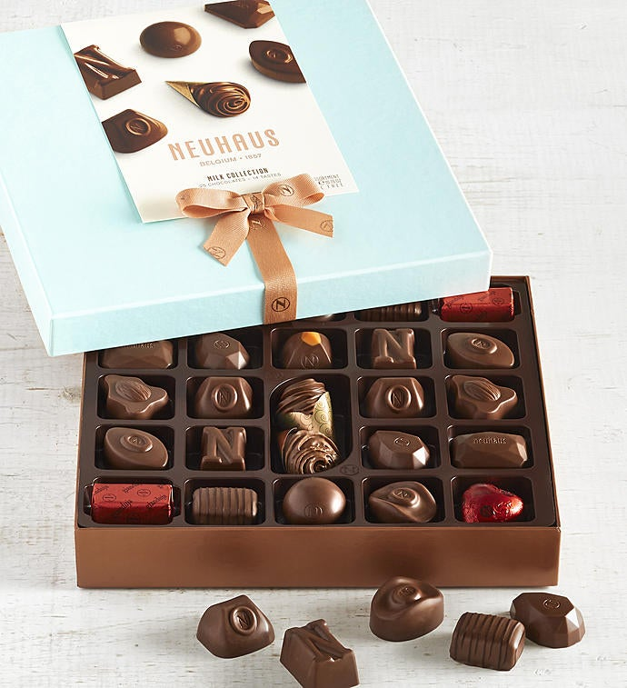 Neuhaus All Milk Assorted Belgian Chocolates  pc