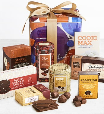 Max Brenner Grand Chocolate Mood Gift Tin