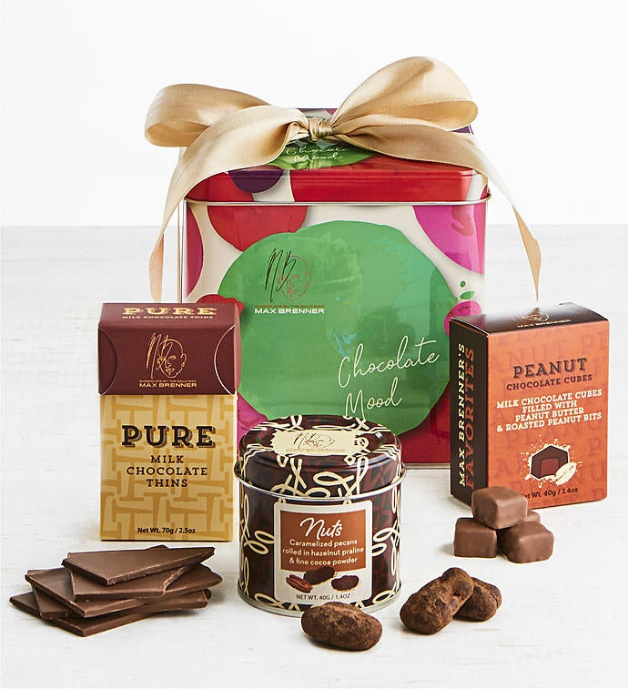 Max Brenner Chocolate Mood Gift Tin