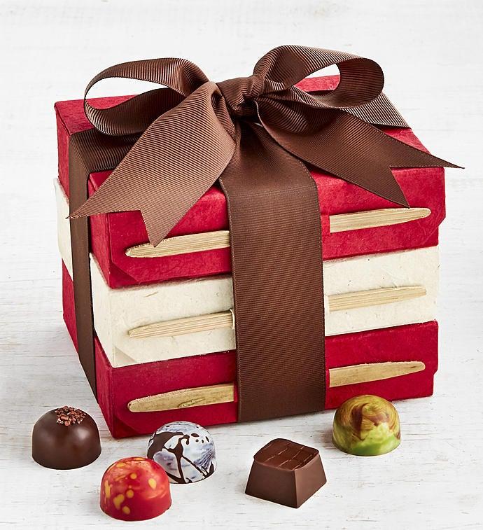 Knipschildt Chocolatier Exclusive Tower Trio