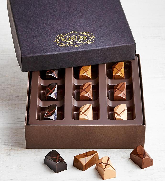 Kohler Ganache Brownie Chocolates