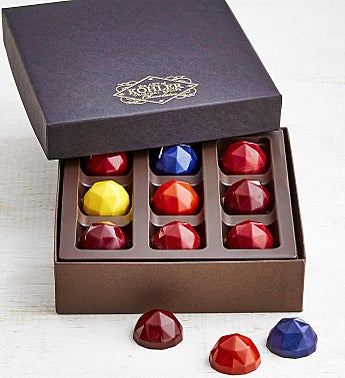 Kohler Rare Facets Ganache Filled Gem Chocolates