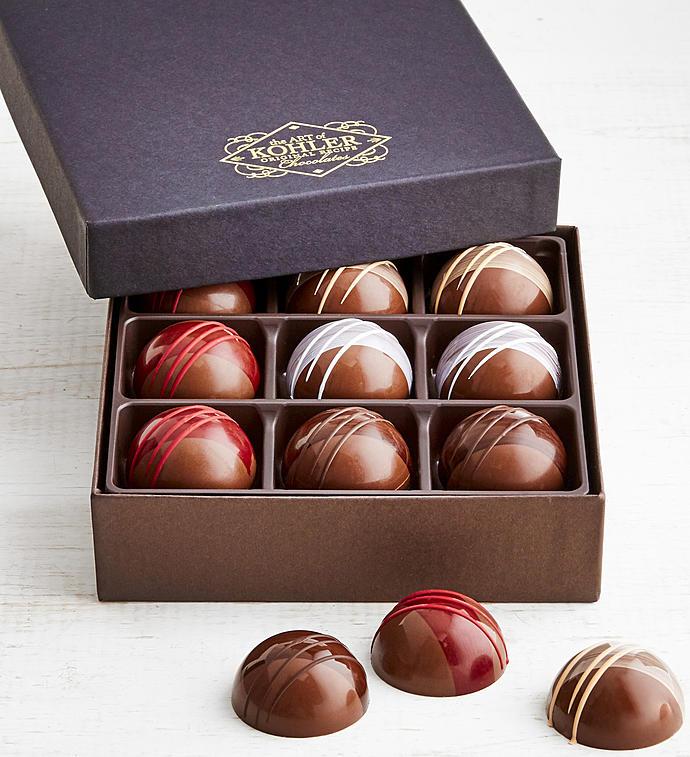 Kohler Assorted Garden Ganache Chocolates