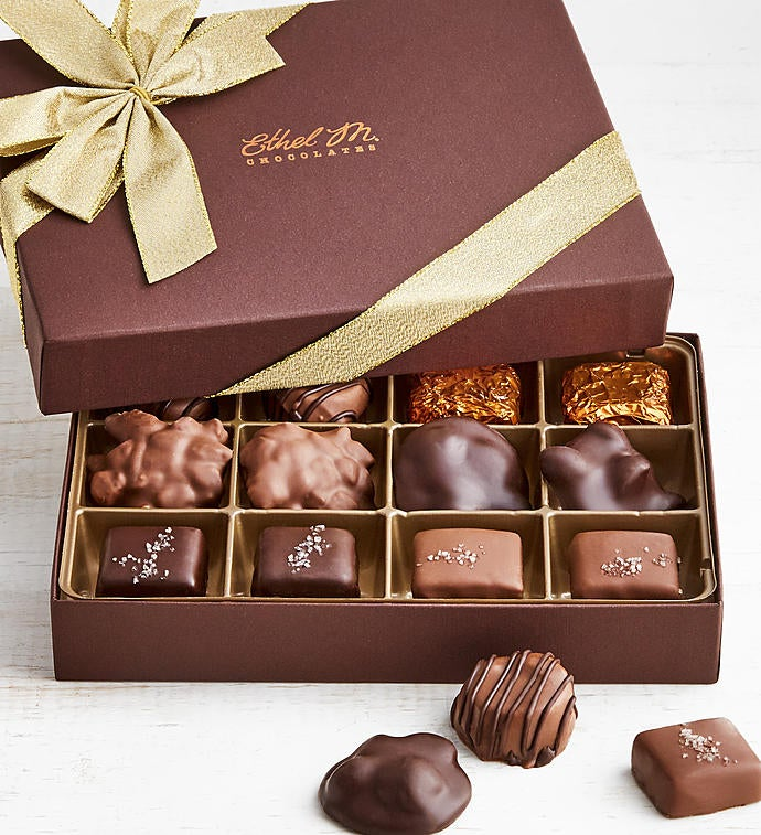 Ethel M Chocolates Nuts  Caramels pc