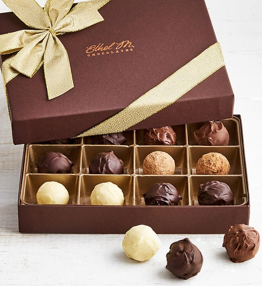 Ethel M Chocolates Truffles Collection 12pc