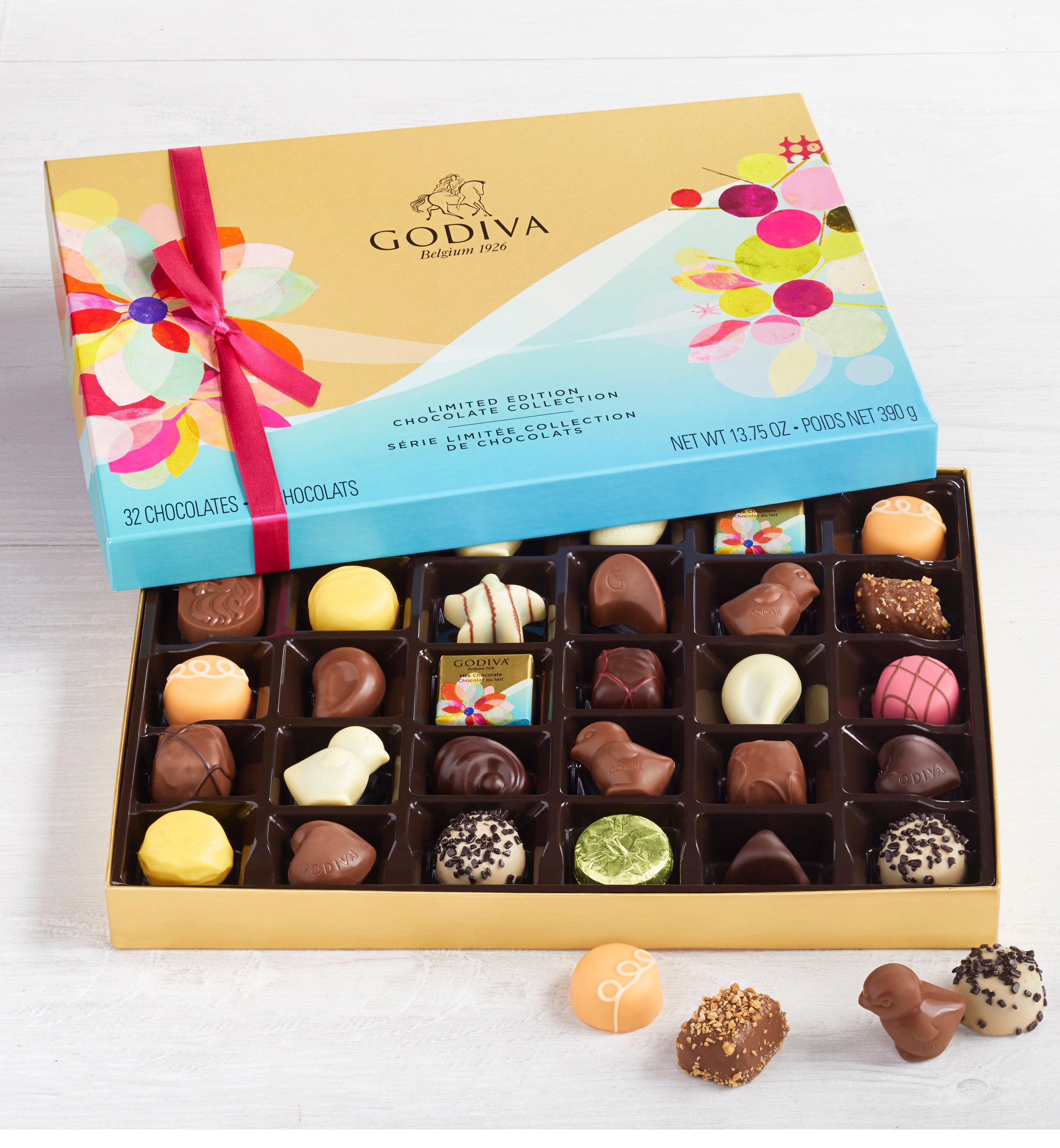 Godiva pc Limited Edition Spring Chocolates Box