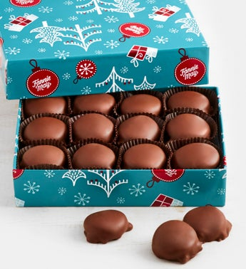Fannie May Holiday Wrapped Pixie Chocolates