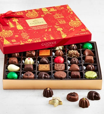 Godiva Ltd Edition 2019 Holiday Chocolates  32 pc