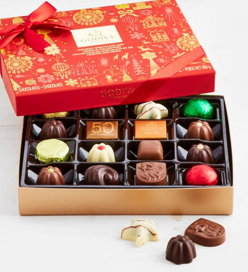 Godiva Ltd Edition 2019 Holiday Chocolates  16 pc