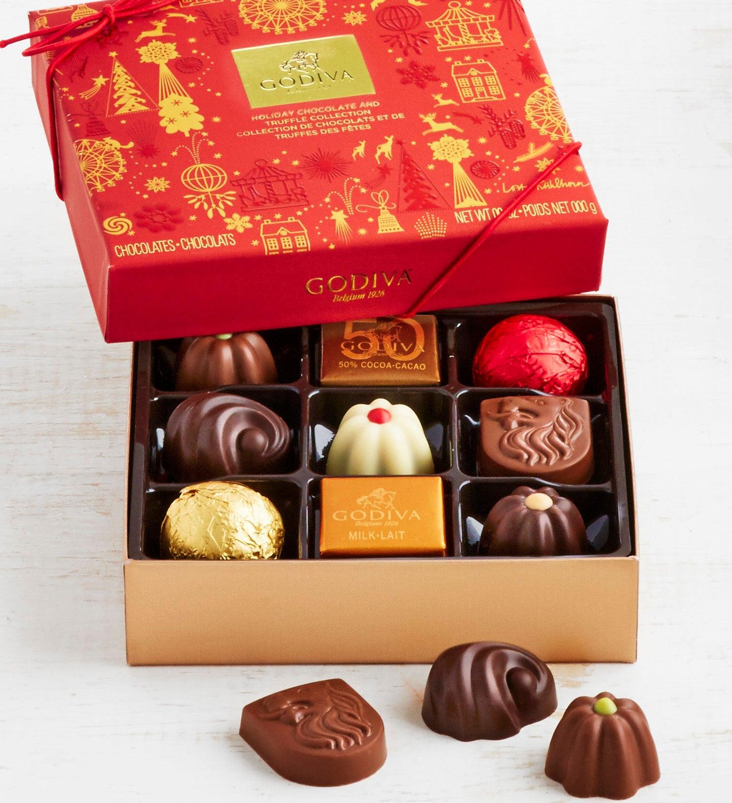 Godiva Ltd Edition  Holiday Chocolates   pc