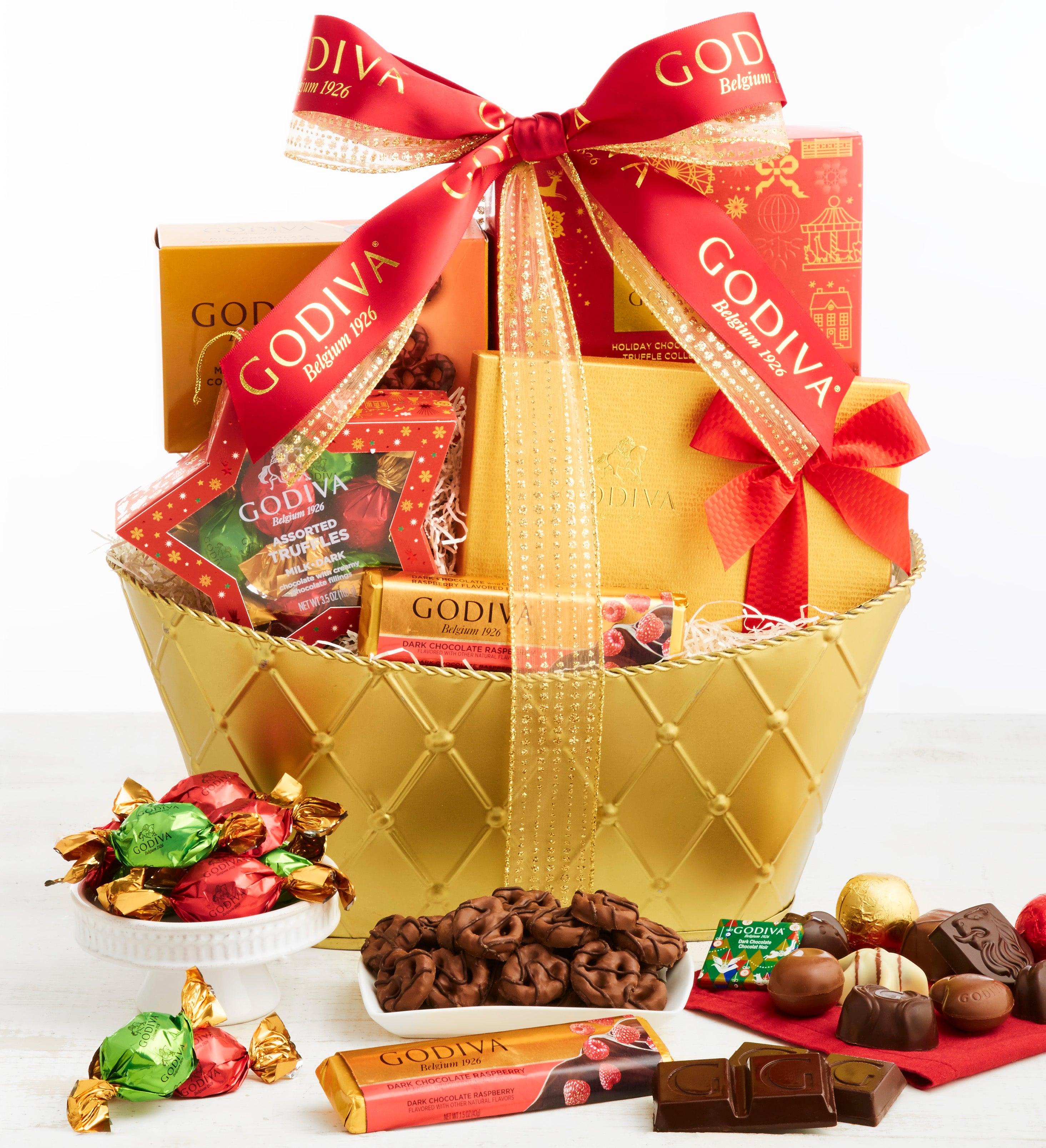 Exclusive  Godiva Holiday Gift Basket