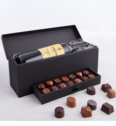 Simply Chocolate Premier Collection  Wine Box
