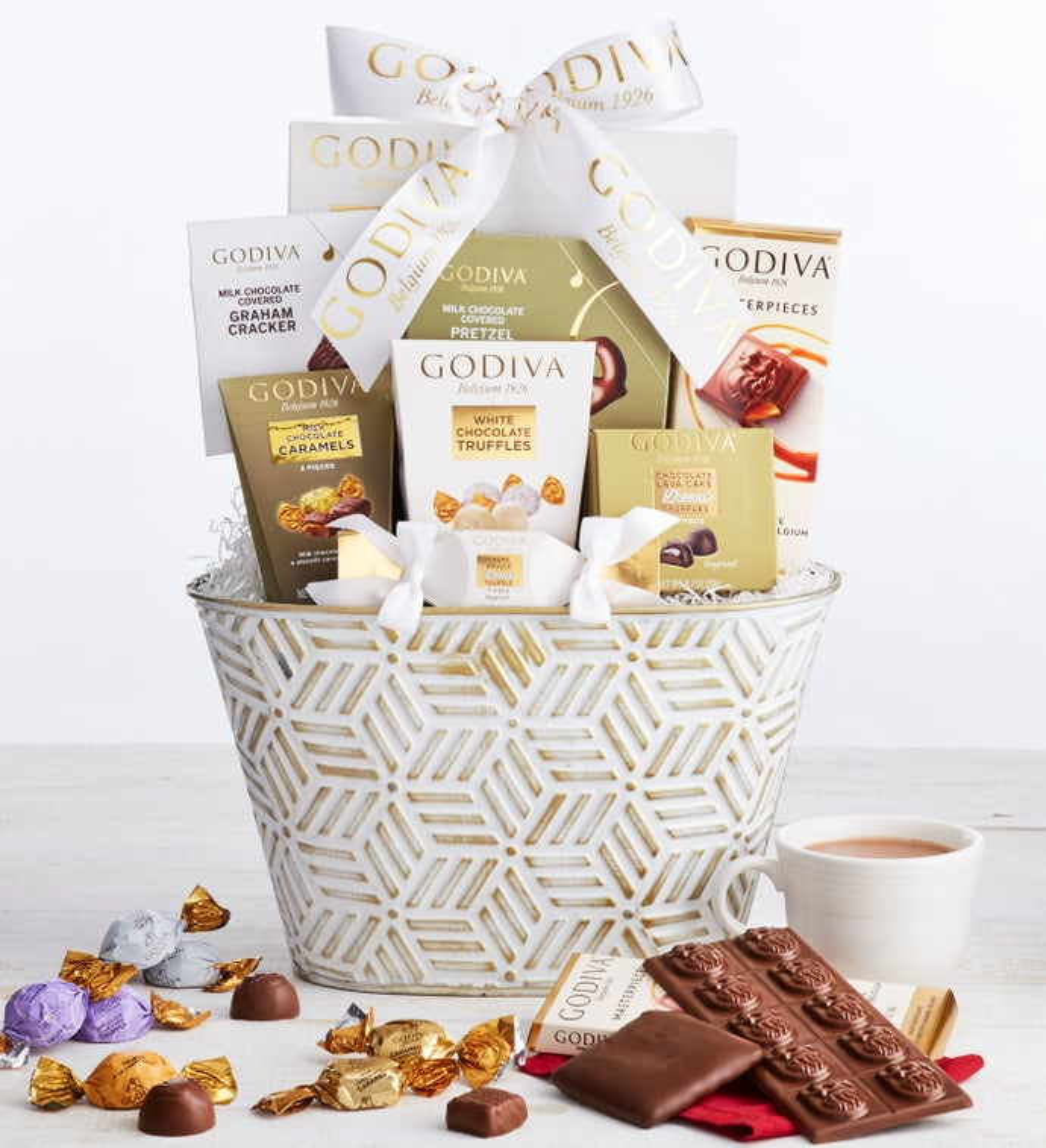Godiva Dreaming of Chocolate Basket
