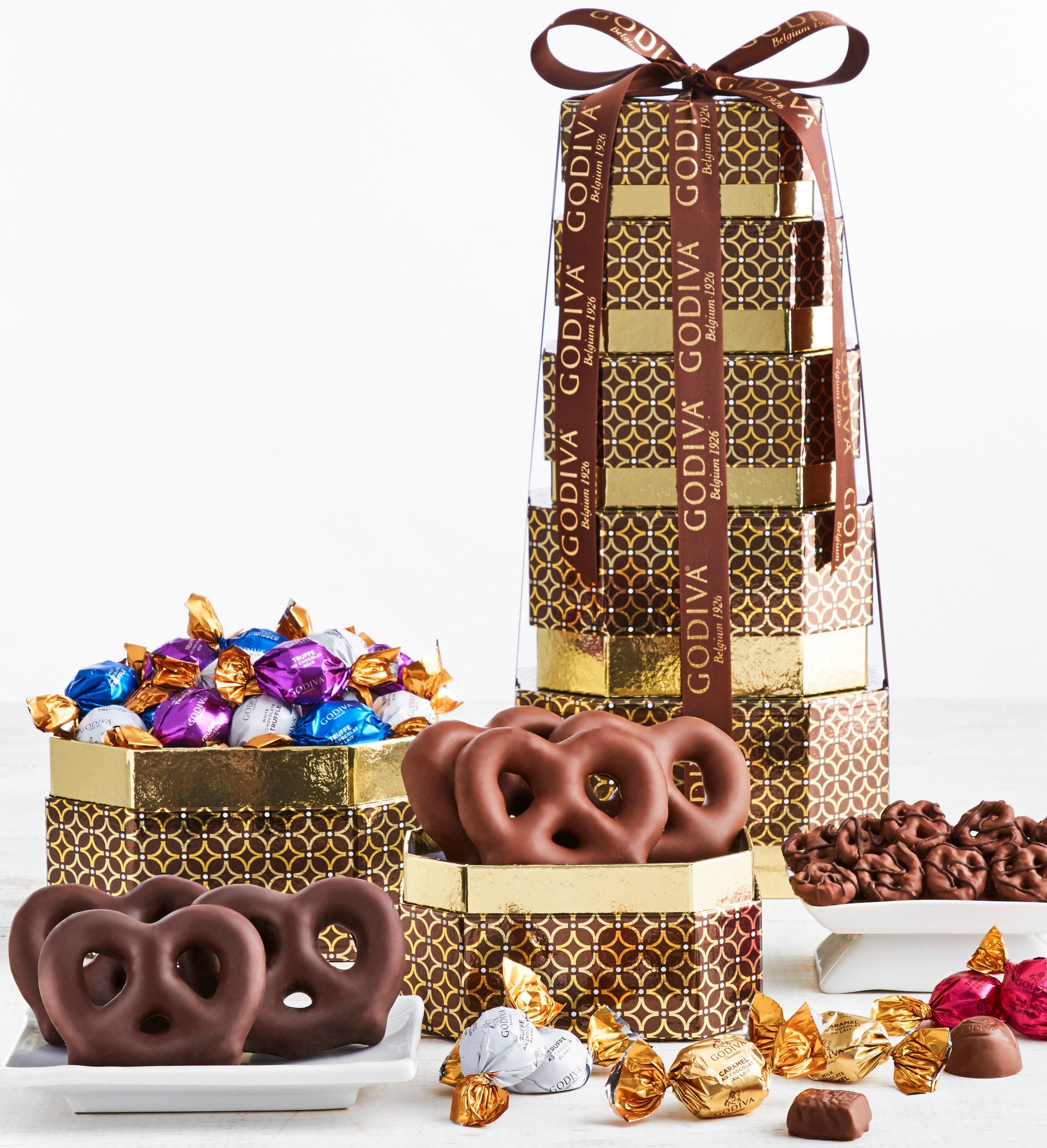 Godiva Prestige Chocolate  Sweets Tower