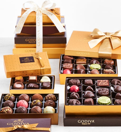 Godiva Excellence Chocolates Tower