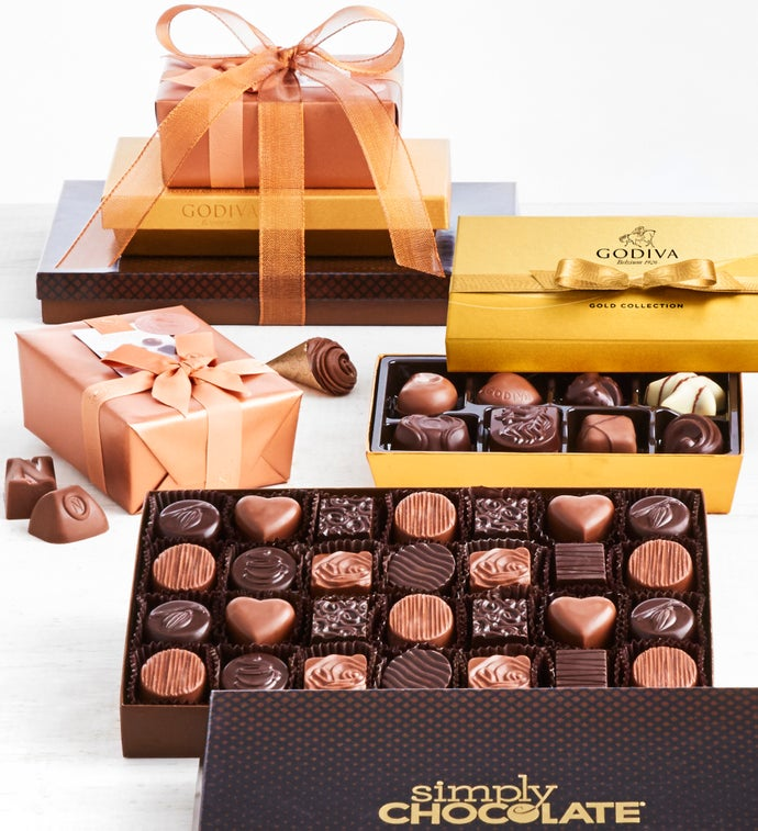 Exclusive Deluxe Chocolates of Distinction Tower
