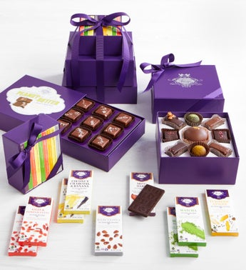 Vosges Exclusive Deluxe Chocolate Collection Tower