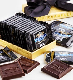Ghirardelli Intense Dark Gold Acetate Box pc