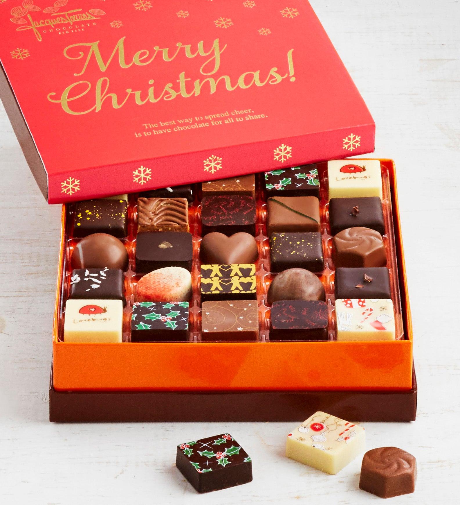 Jacques Torres Christmas Chocolates Box pc