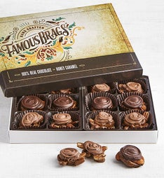 The Sweet Shop Famous Brags Chocolates Box pc
