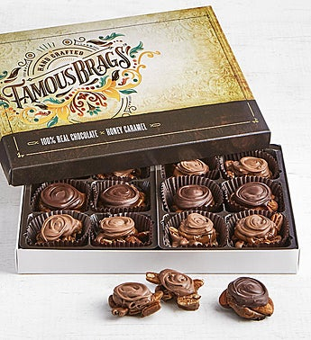 The Sweet Shop Famous Brags® Chocolates 12pc