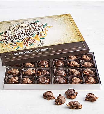 The Sweet Shop Famous Brags Chocolates Box 24pc