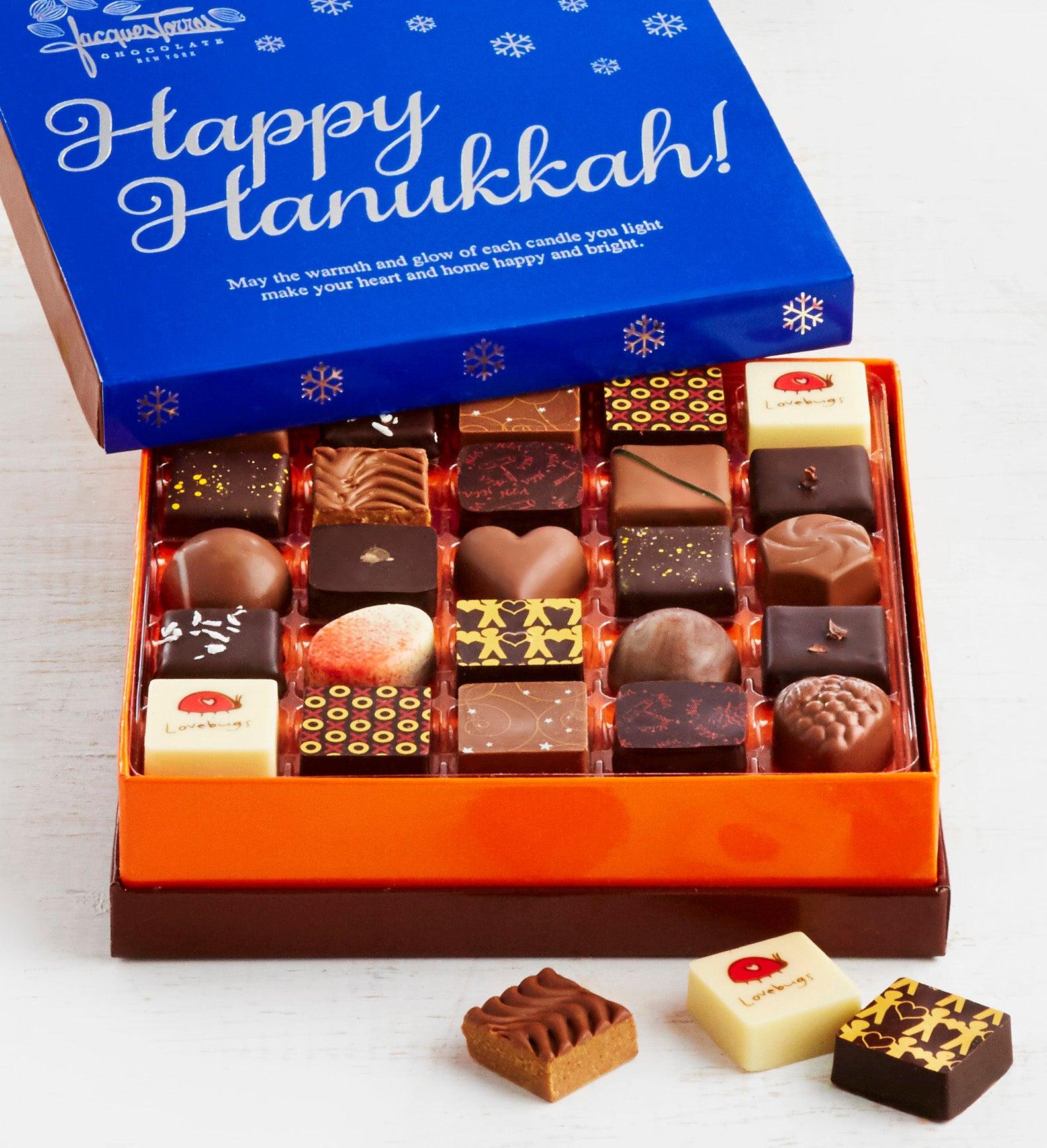 Jacques Torres Hanukkah Chocolates Box pc