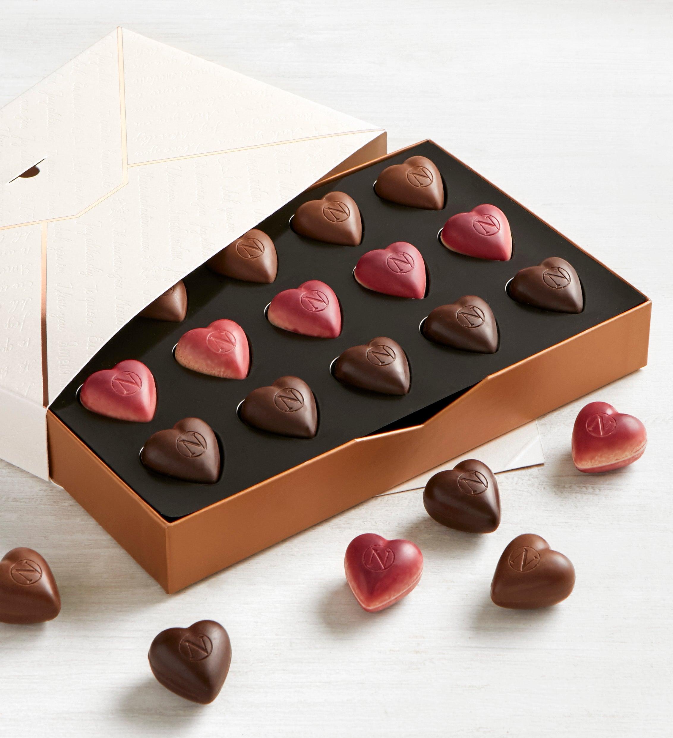 Neuhaus Love Letter Heart Chocolates Box pc
