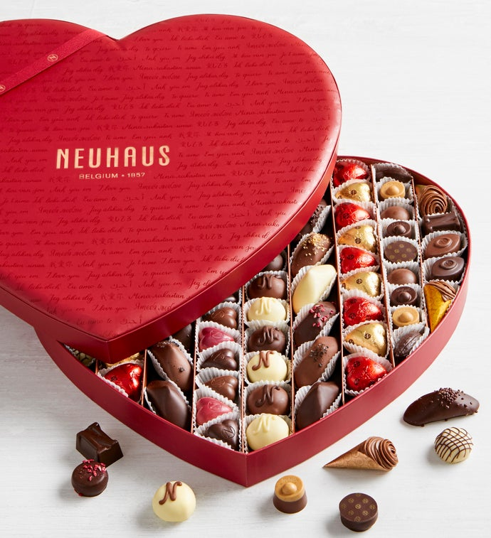 Neuhaus Ultimate pc Belgian Chocolate Heart Box