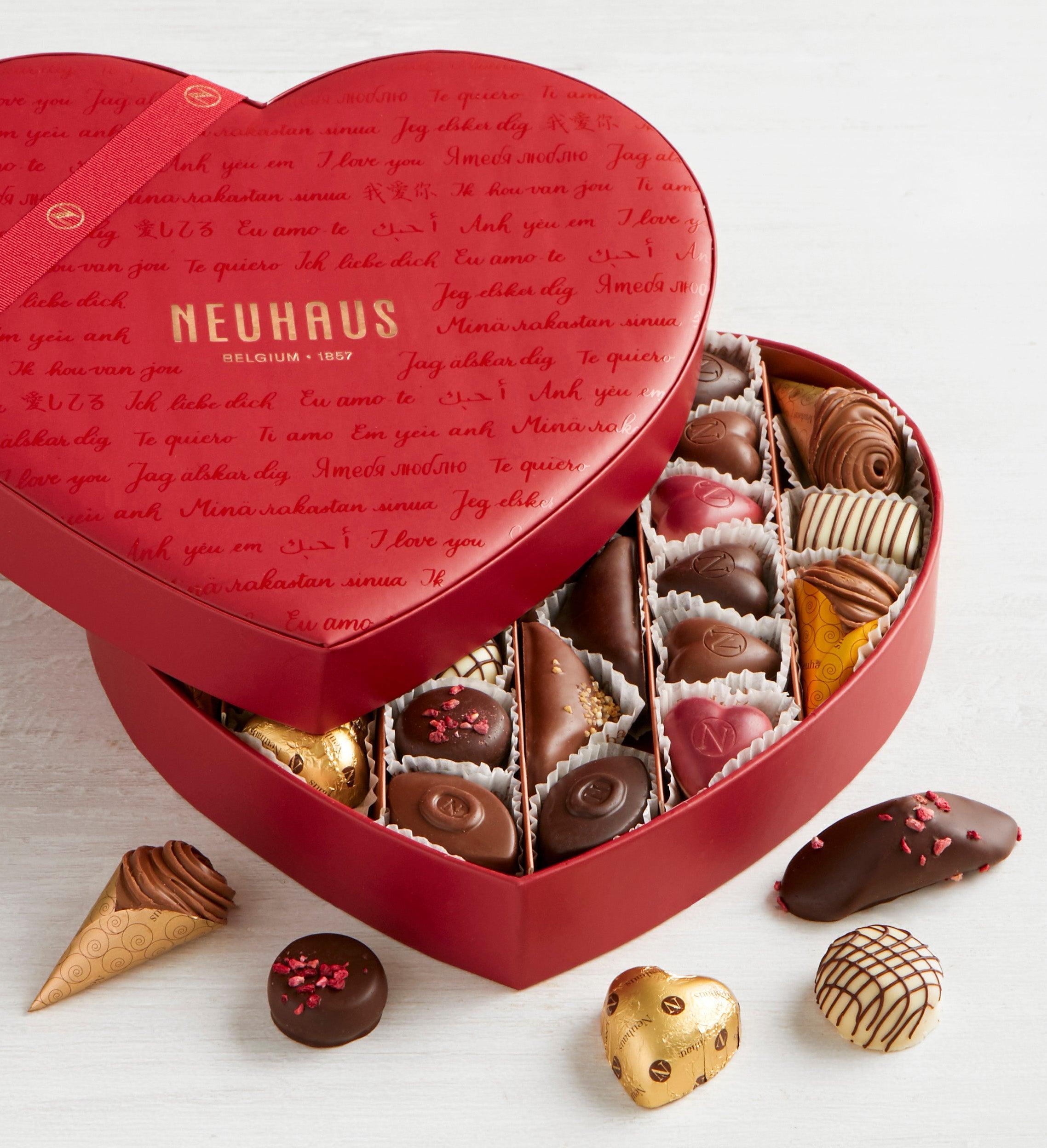 Neuhaus Infinite Love pc Heart Box