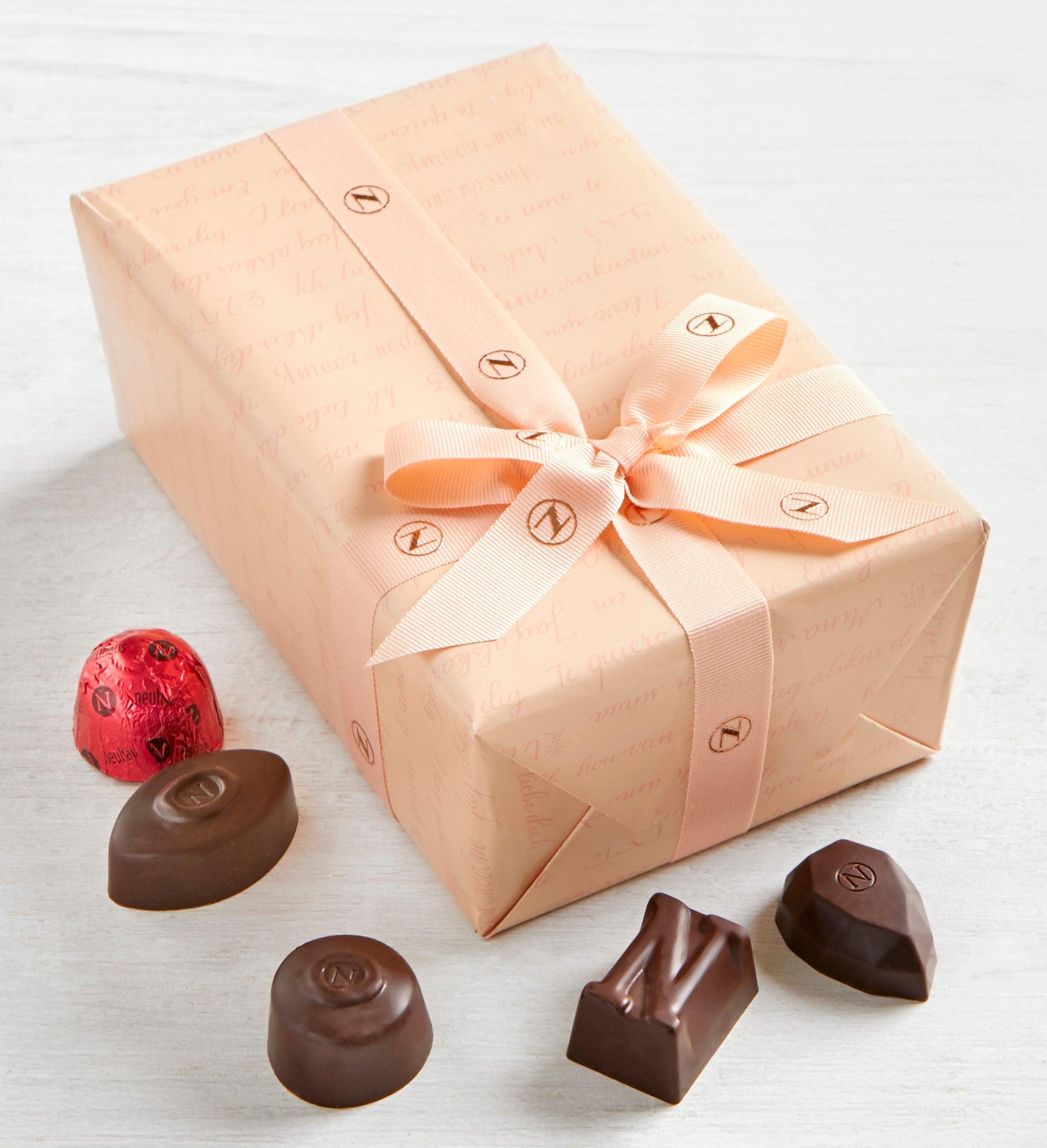Neuhaus Valentine Dark Chocolate Ballotin  pc