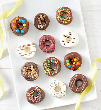 Simply Chocolate Marshmallow Donuts- 12 pc-