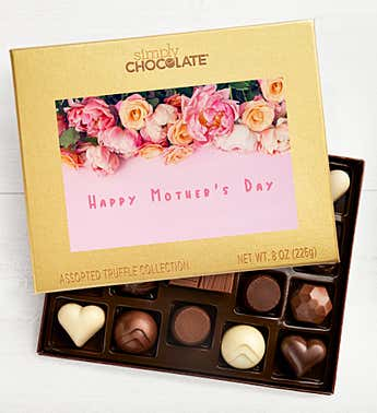Mother's Day Flowers 19pc Chocolate Box
