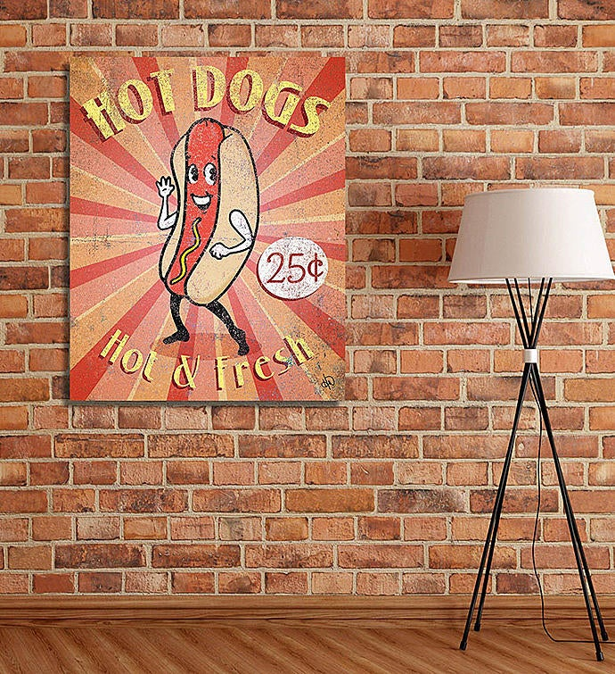 Hot Dog Sign