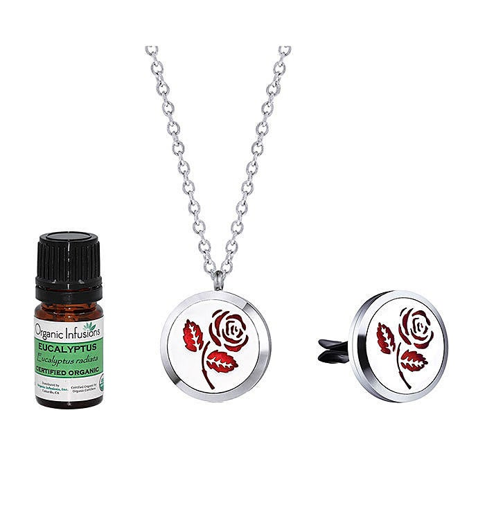 Rose Essential Oil Gift Set