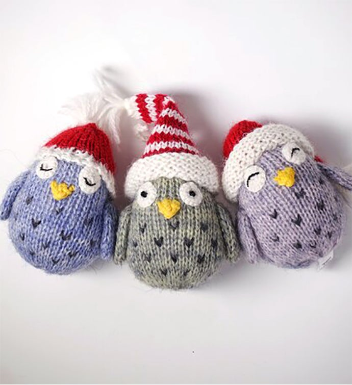 Tiny Owl Ornaments