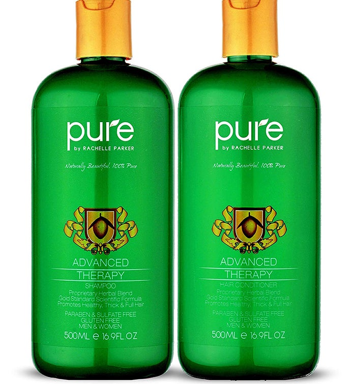 Natural Hair Growth Shampoo And Conditioner