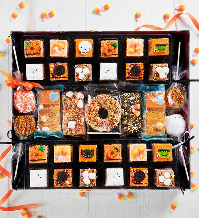 Halloween Deluxe Rice Krispie treat Set