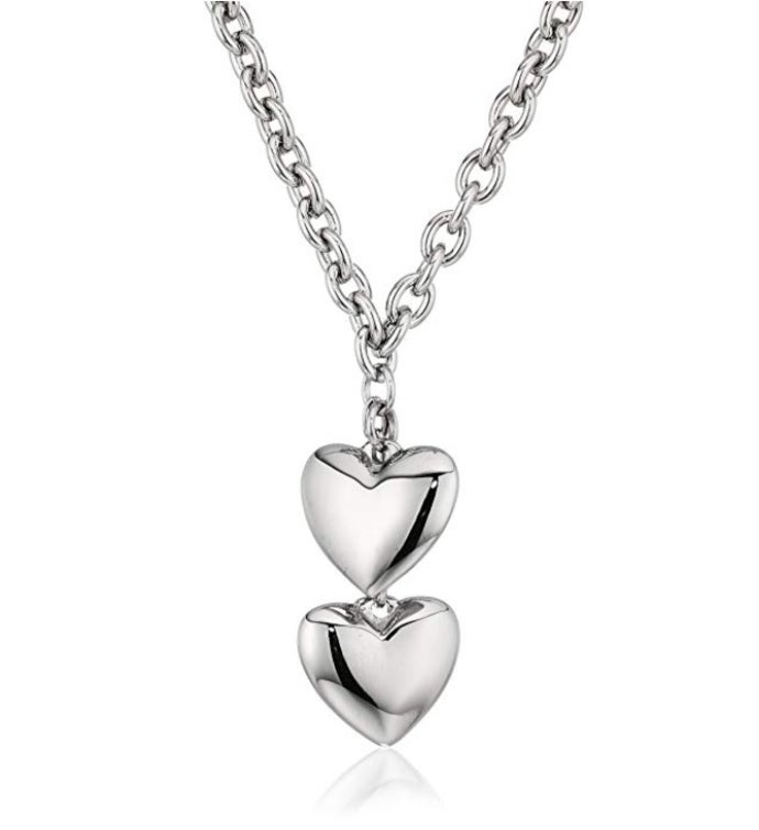 Puffed Hearts Necklace