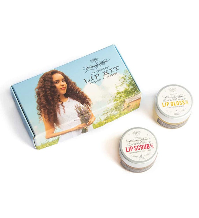 Lip Scrub And Gloss Kit