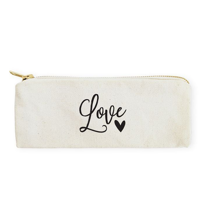 Inspirational Pencil Case  Travel Pouch