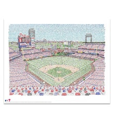 Word Art Baseball Stadiums