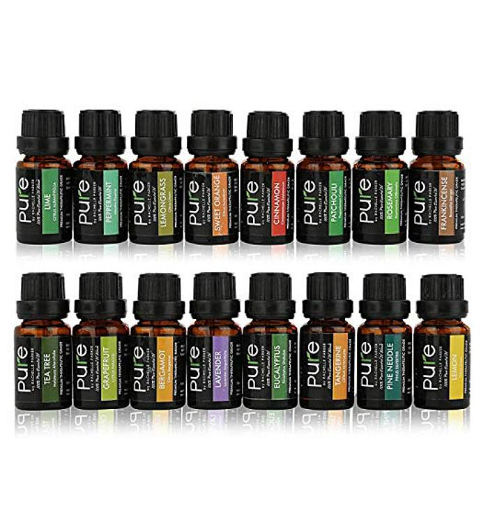 Therapeutic Grade Essential Oils Set