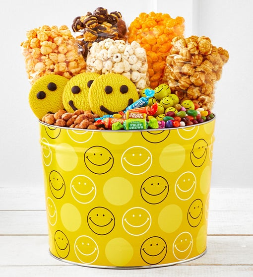 Smiley Dot 2 Gallon Grand Snack Assortment