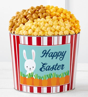 Tins With Pop Happy Easter Bunny With Carrots