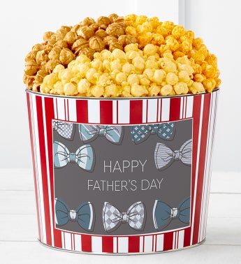 Tins With Pop Happy Fathers Day Bow Tie